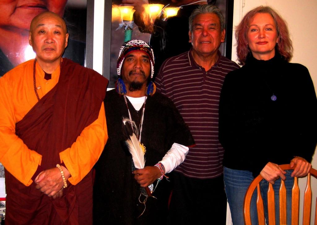 Gunika, Shaman Kucho, Shaman Isaac and Sher
